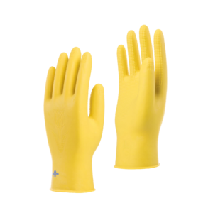 Mini Rubber Gloves Yellow Color (BGM)