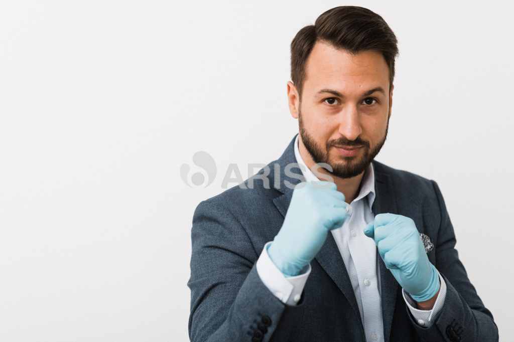 Rubber Gloves against Virus