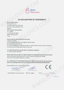 KG CE EN 374-5 Latex DP1 certification and test report-01