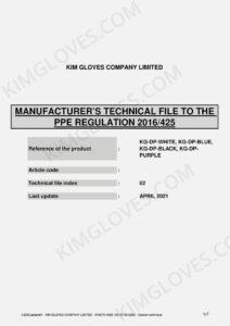 KG CE EN 374-5 Latex DP1 certification and test report-03