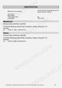 KG CE EN 374-5 Latex DP1 certification and test report-04
