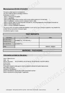 KG CE EN 374-5 Latex DP1 certification and test report-07
