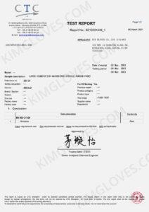 KG CE EN 374-5 Latex DP1 certification and test report-16