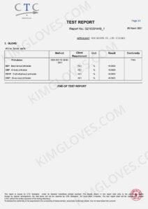 KG CE EN 374-5 Latex DP1 certification and test report-18