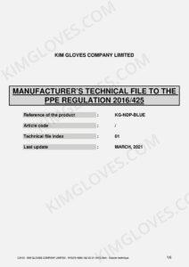 KG CE EN 374-5 Nitrile NT1 certification and test report-03