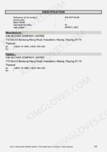 KG CE EN 374-5 Nitrile NT1 certification and test report-04