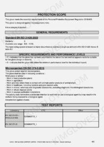 KG CE EN 374-5 Nitrile NT1 certification and test report-06