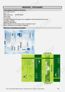 KG CE EN 374-5 Nitrile NT1 certification and test report-07