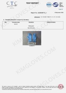 KG CE EN 374-5 Nitrile NT1 certification and test report-12