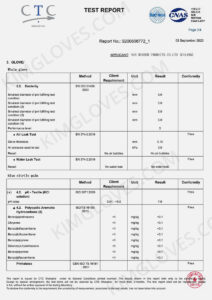 KG CE EN 374-5 Nitrile NT1 certification and test report-13