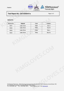 KG EN 455 Latex DP1 Test report-02