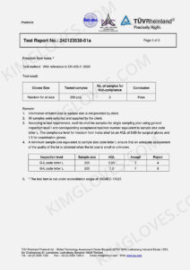 KG EN 455 Latex DP1 Test report-03